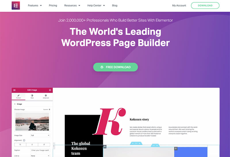 Elementor WordPress Page Builder to Start a Blog