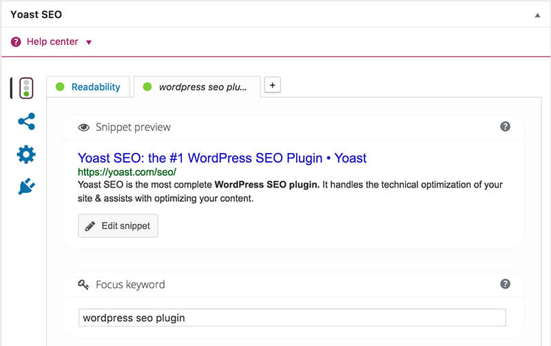 Yoast SEO WordPress Plugin for Blogging